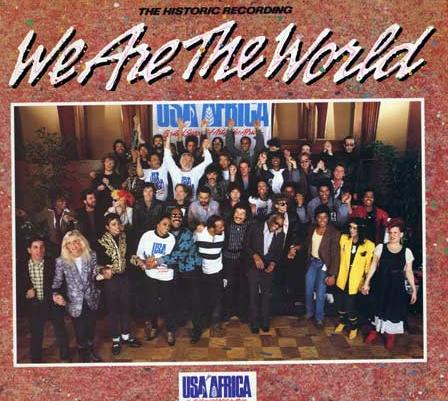 we are the world we In its time, we are the world was considered the apogee of musical activism, the epitome of the '60s ideal of music working to save the world and change society for the better.